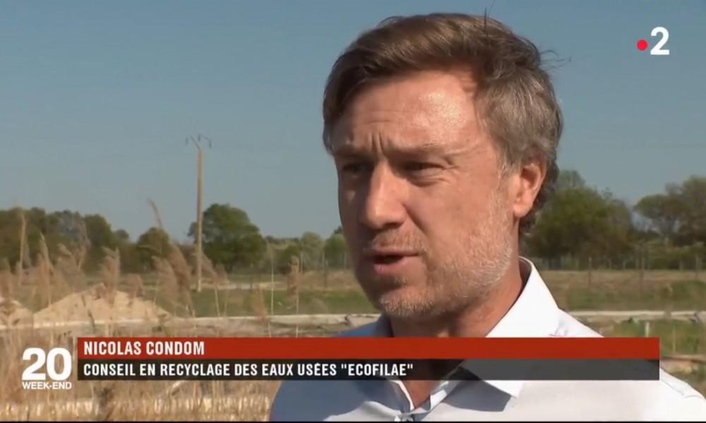 Ecofilae au 20 h de France 2 : les eaux usées, ce trésor caché