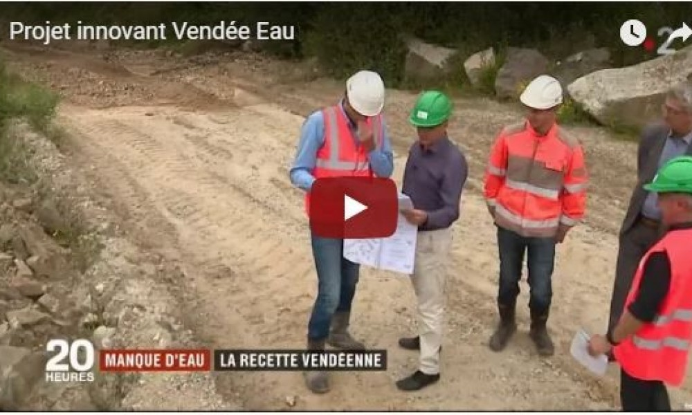 Innovative project Vendée Eau
