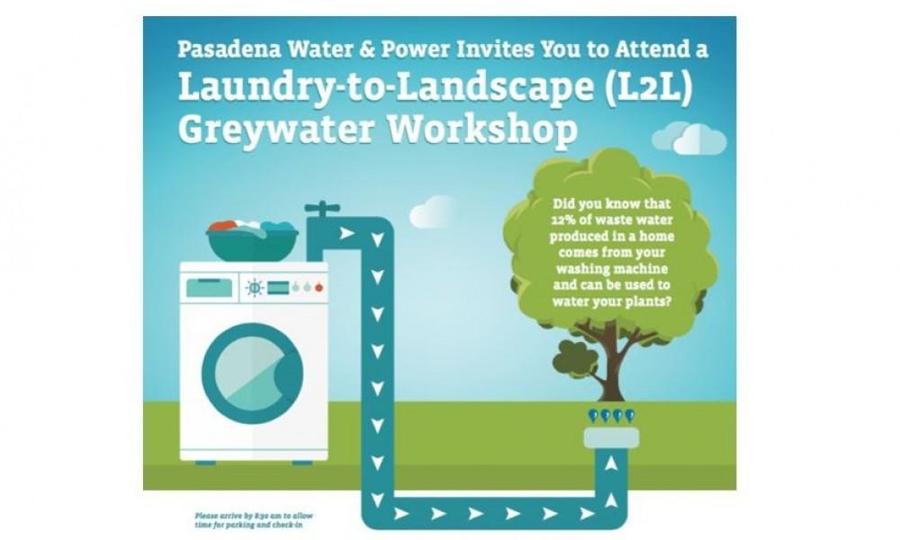 La ville de Pasadena encourage la réutilisation des eaux grises avec son programme « Laundry to Landscape »