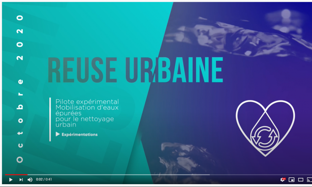 The urban area of Cannes enters the circular economy of water !