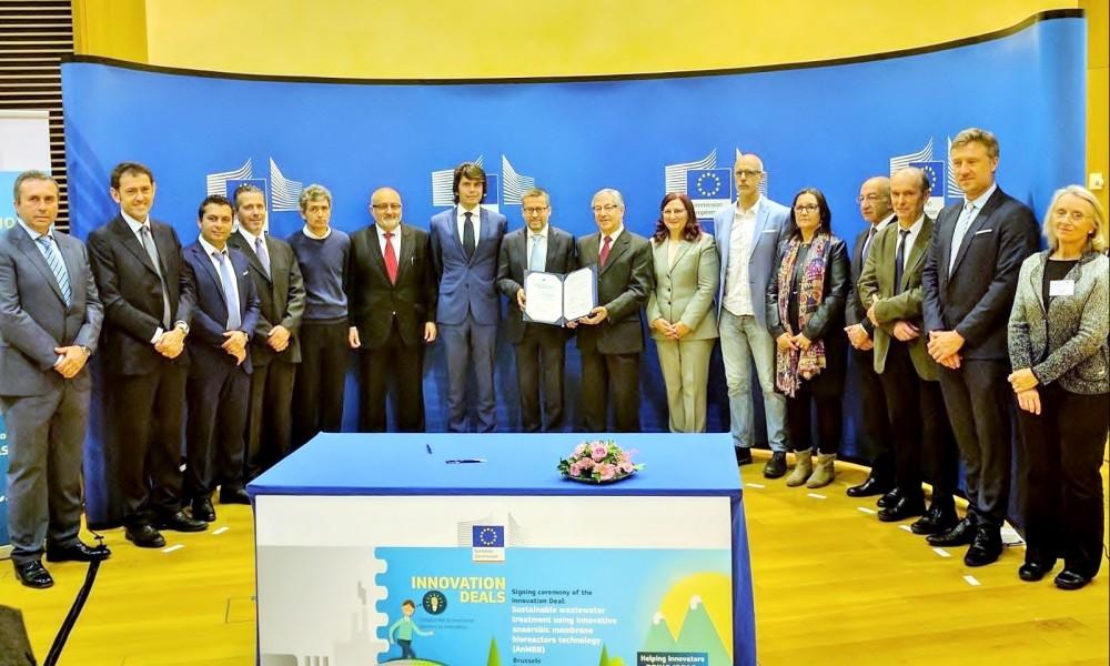 Ecofilae signe avec la Commission Européenne le 1er Innovation Deal sur la réutilisation de l'eau